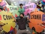 Raksha Bandhn: Kites with Corona hits Jammu market