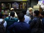 People buy firecrackers for Diwali in Mumbai