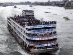 Bangladesh celebrates Eid: Ferries packed with homebound travelers