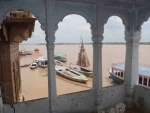 View of Varanasi Ganga ghat