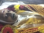 Chennai: Mortal remains of singer SP Balasubrahmanyam