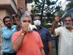 IndiaFightsCorona: West Bengal BJP chief Dilip Ghosh blows conch shell