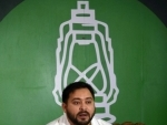 Tejashwi Yadav addresses press conference