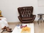 Pawan Kalyan at JanaSena Party Office