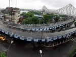 Roads in Kolkata wore a deserted look on the second day of lockdown on Friday