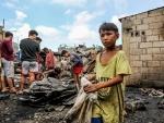 Manila: Fire damages slum