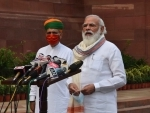 PM Modi addresses media ahead of the Monsoon Session at Parliament