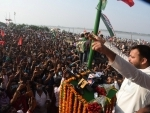 Tejashwi Yadav address rally ahead of assembly election