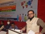 Samajwadi Party's press conference in Mumbai