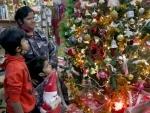 Belagavi: Church illuminated on the eve of Christmas