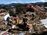 Indonesia: People salvage items after flash floods hit Masamba