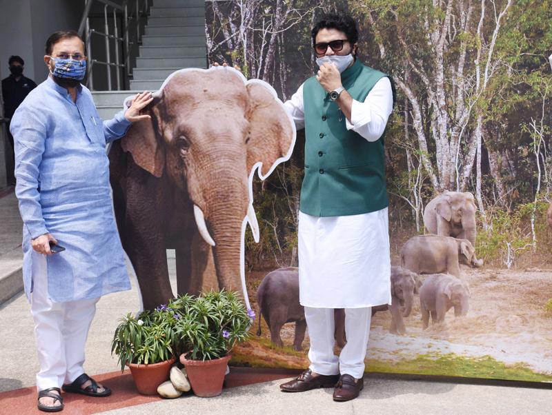 Javadekar, Babul Supriyo release publication on the eve of World Elephant Day