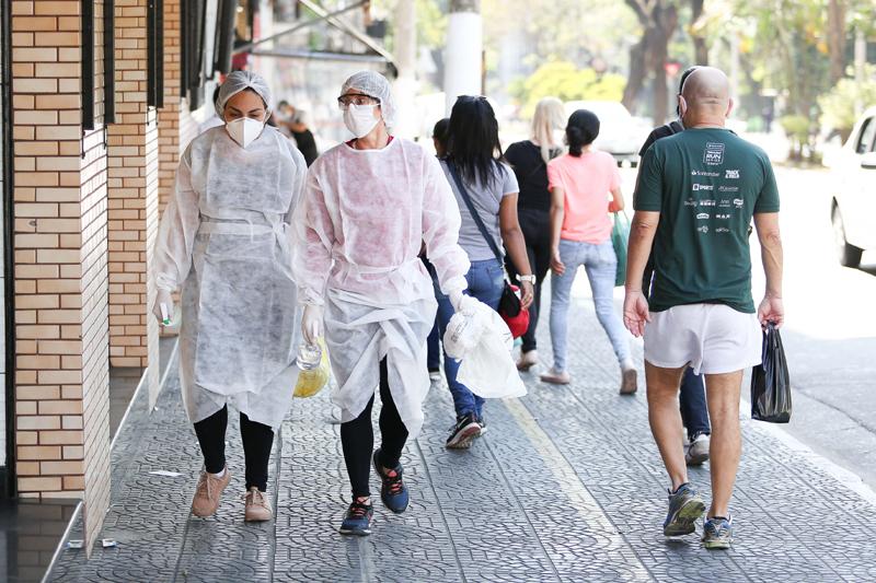 Sao Paolo amid Covid-19 outbreak