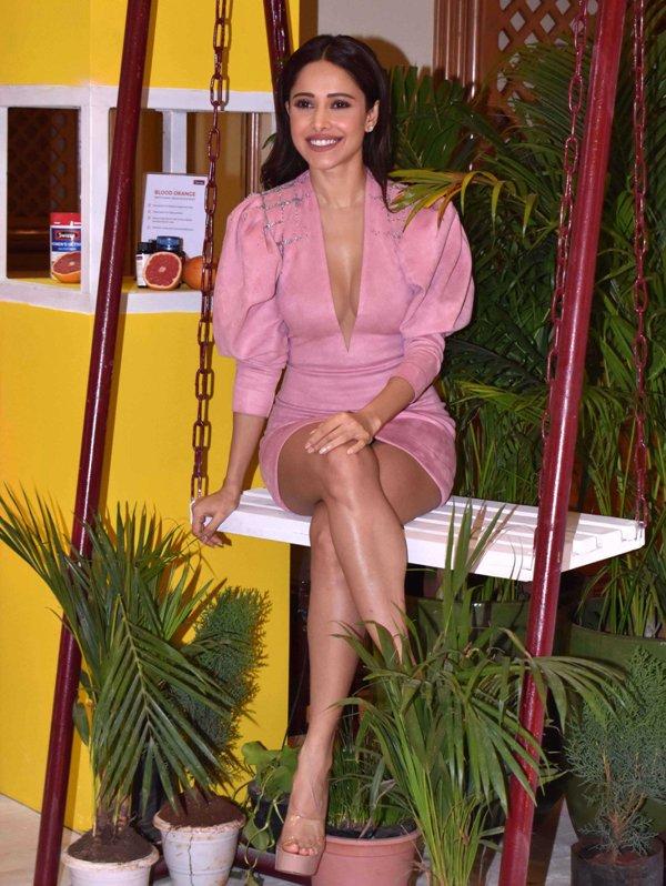Bollywood actress Nushrat Bharucha at Melbournes Swisse launch in Mumbai
