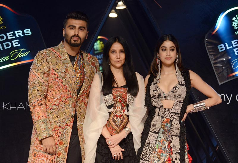 Arjun Kapoor, Janhvi Kapoor scorch ramp at Blenders Pride Fashion Tour