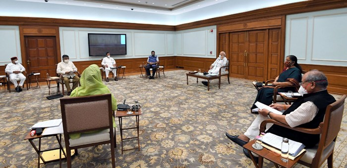 PM Modi chairs cabinet meeting in New Delhi