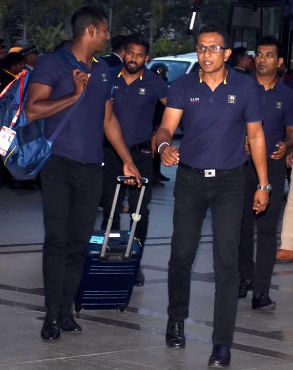 Sri Lanka T 20 cricket team tours India