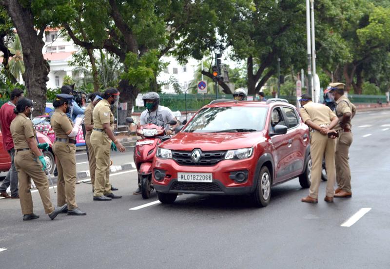 Thiruvananthapuram observing triple lockdown to fight COVID-19