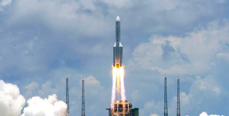 Probe launched on Long March-5 rocket