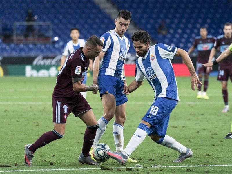 La Liga league match between RCD Espanyol and RC Celta