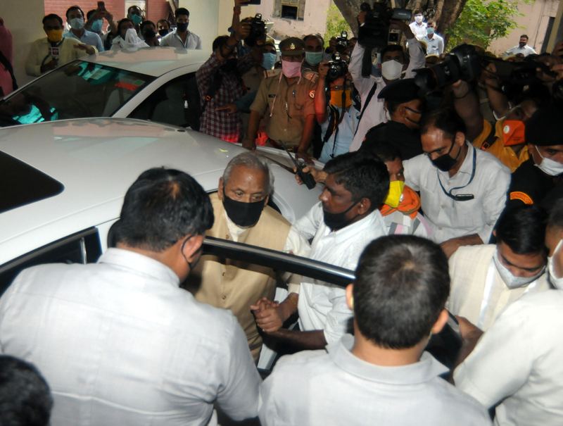 Babri Masjid case: BJP leader Kalyan Singh appears before special CBI court