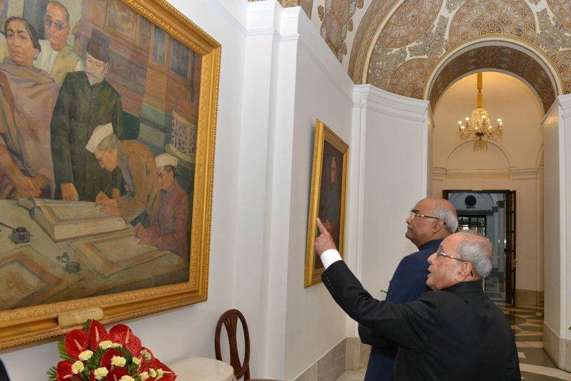 Ram Nath Kovind shares some memorable moments with Pranab Mukherjee