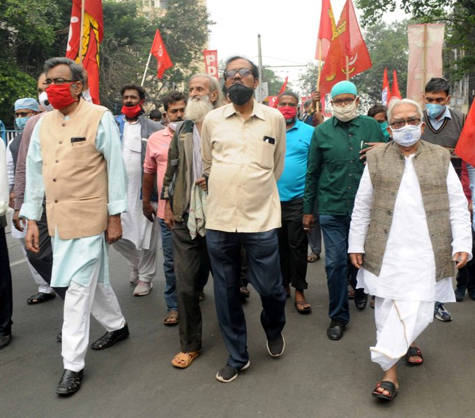 Bharat Bandh called by central trade unions against Centre's policies