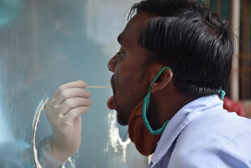 Coronavirus test in Ranchi