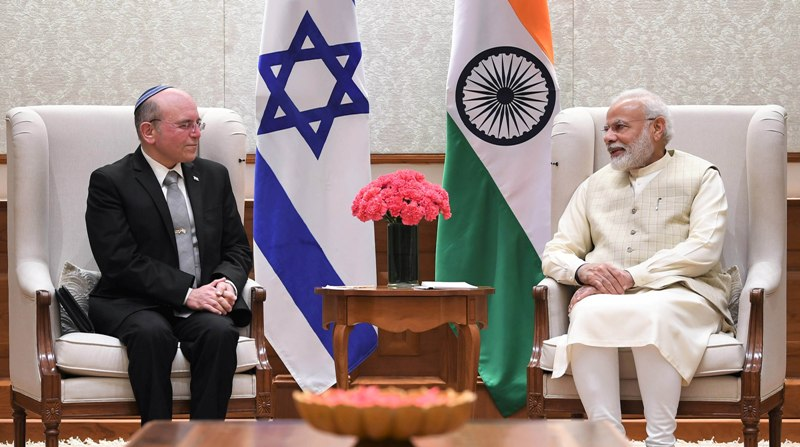 NSA of Israel Ben Shabbat calls on PM Modi