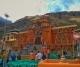 Badrinath shrine decked up for Diwali
