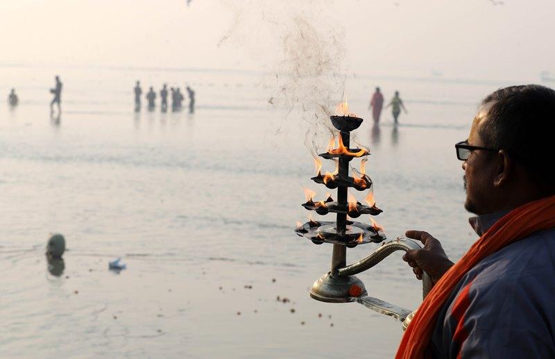 Ganga Aarti in Prayagraj