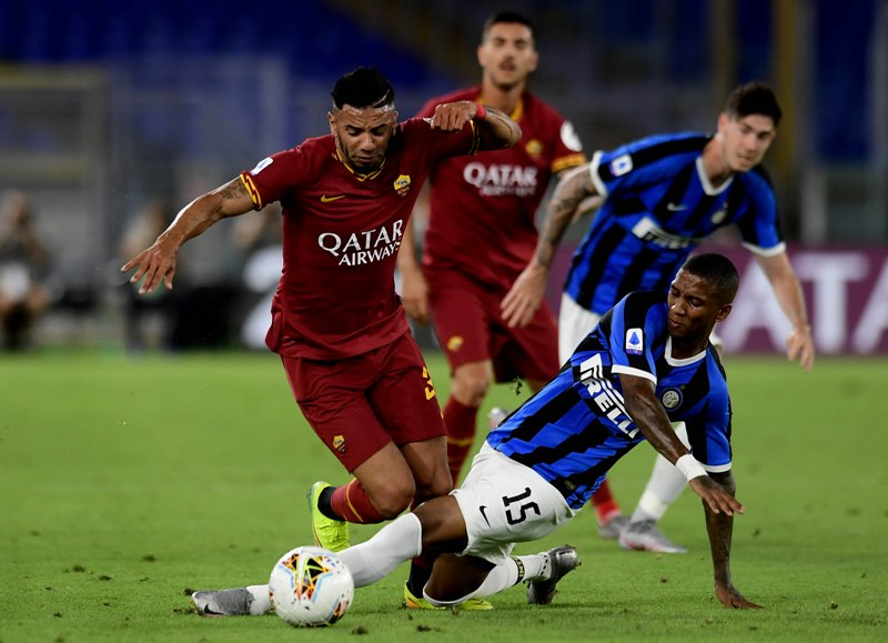 Serie A football match between Roma and FC Inter