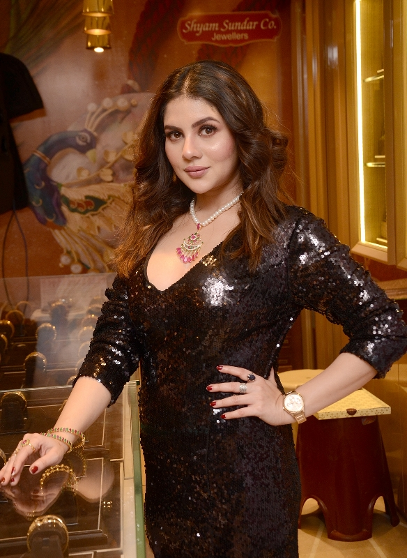 Actress Payel Sarkar launches Shyam Sundar Co. Jewellers' new diamond jewellery collection