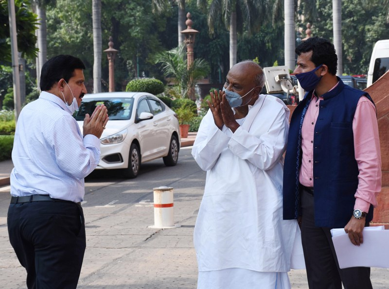 Monsoon Session of Parliament: Glimpses of some MPs
