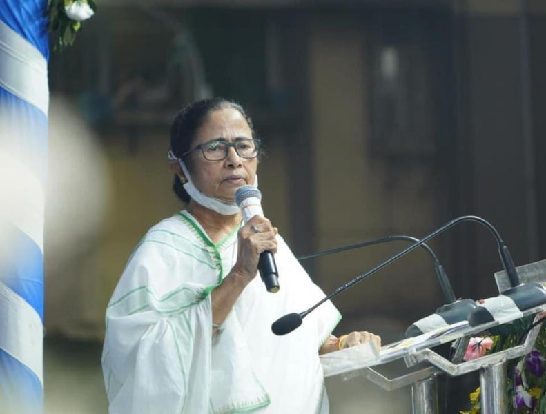 Mamata Banerjee inaugurates Mahjerhat Bridge in Kolkata
