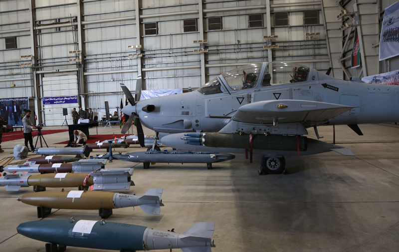 Afghanistan: A-29 Super Tucano attack aircraft handed over in Kabul