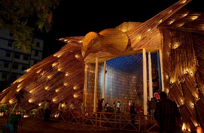 Glimpses of the last day of Durga Puja in Kolkata