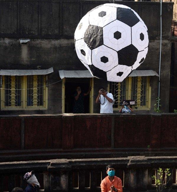 Glimpse of Diwali celebrations in Kolkata