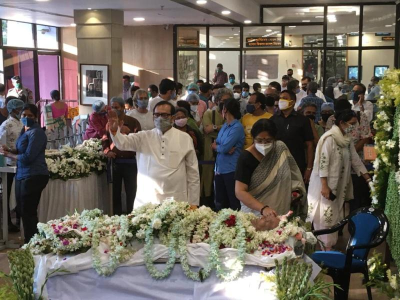 Soumitra Chatterjee passes away: His Last Journey In Images   Indiablooms -  First Portal on Digital News Management