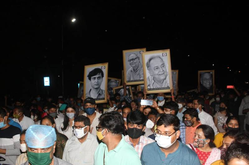 RIP Legend: Bengalis bid farwell to iconic actor Soumitra Chatterjee