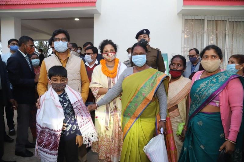 Jharkhand CM Hemant Soren welcomed by tribals of Netaharat