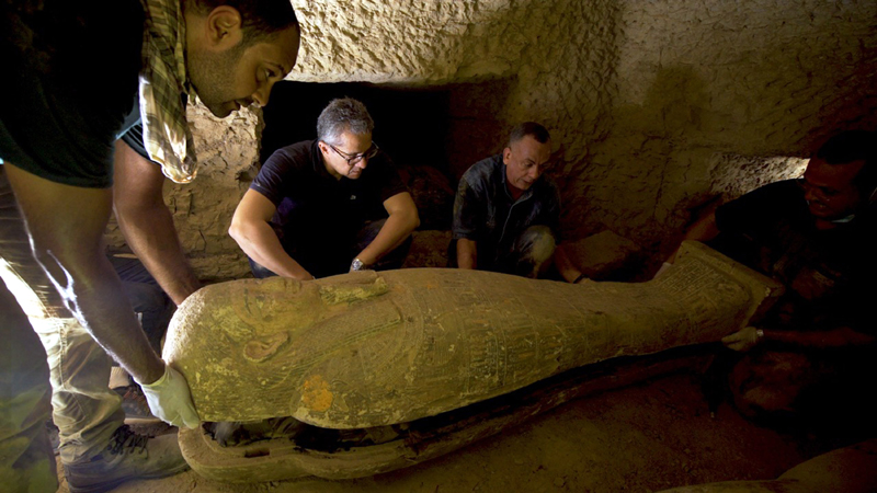 2,500-year-old coffin discovered in Giza