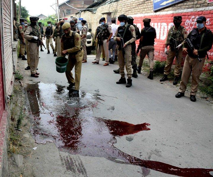 Terrorist attack in Srinagar
