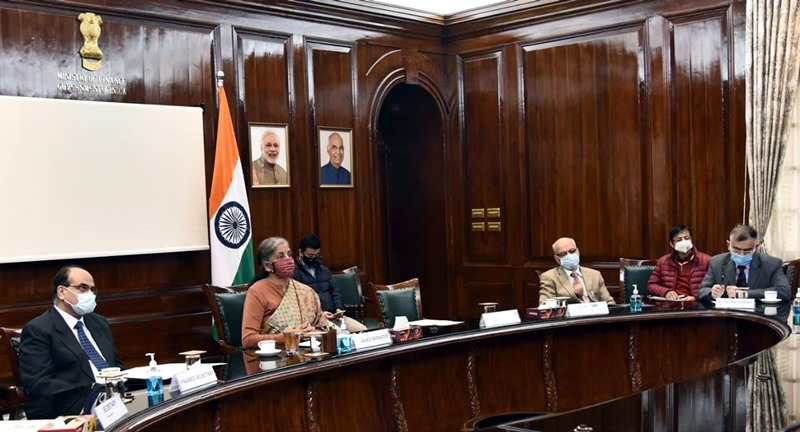 Nirmala Sitharaman holds pre-budget consultations