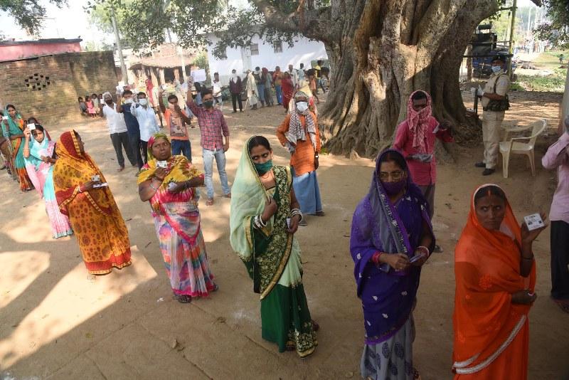 First phase of Bihar poll underway