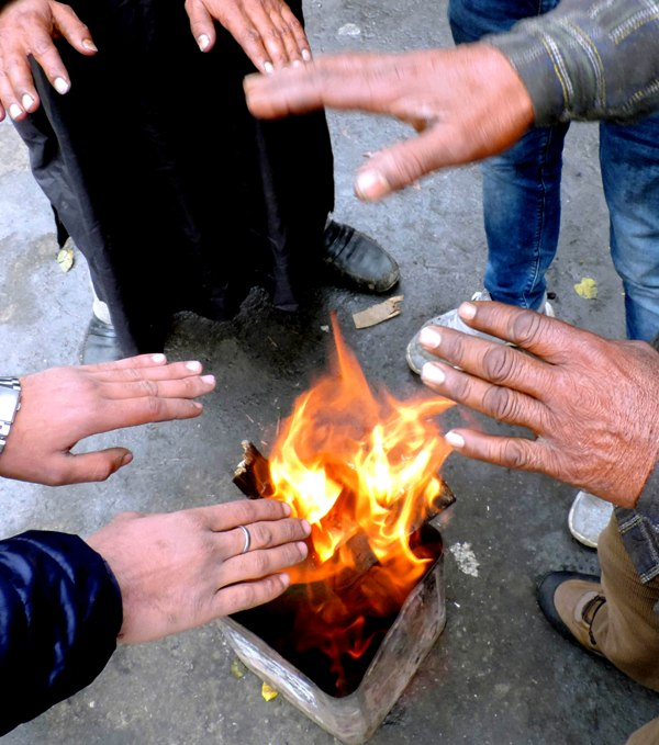 Images of Srinagar : Nov , 22 , 2020