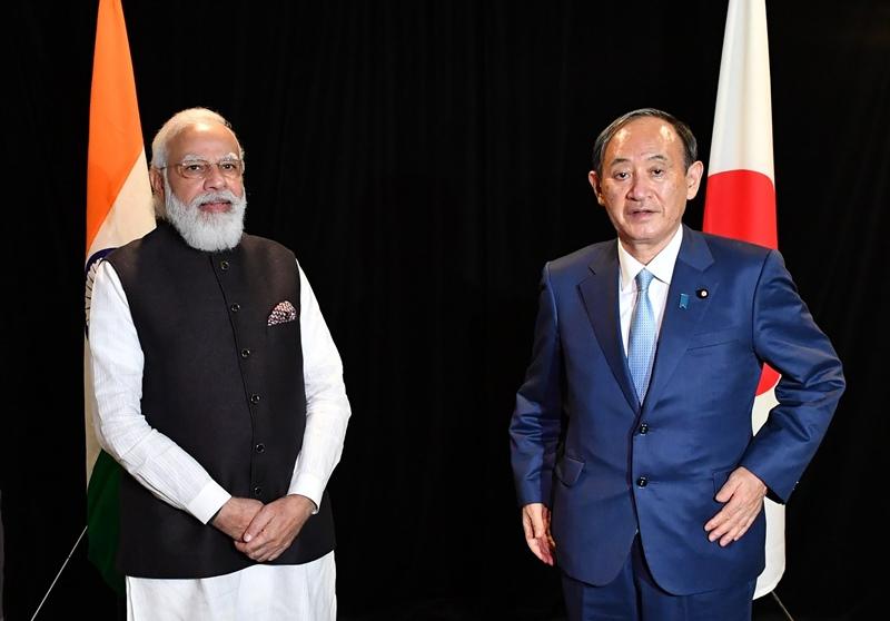 PM Modi in USA, meets Kamala Harris