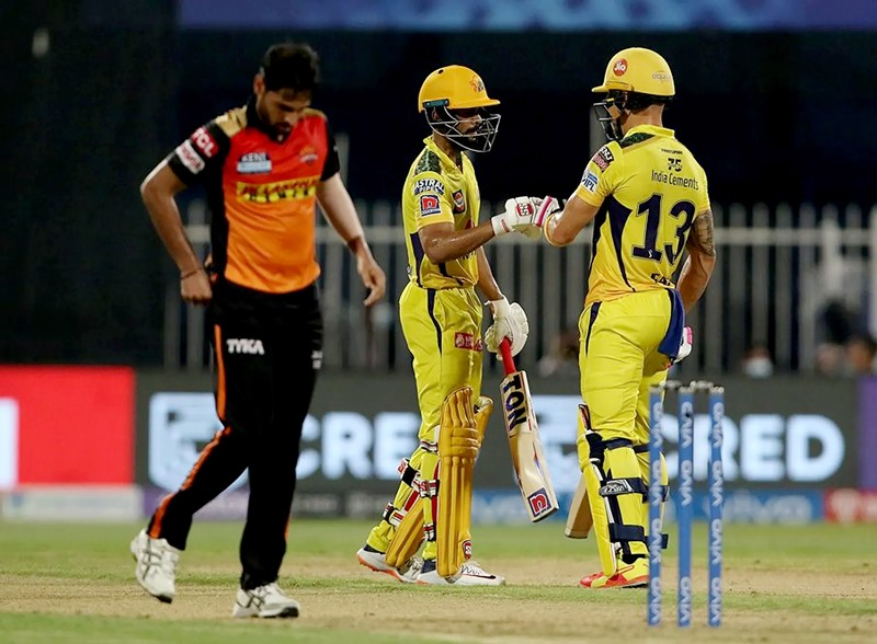 IPL 2021: CSK defeat SRH by 6 wickets, reach playoff stage