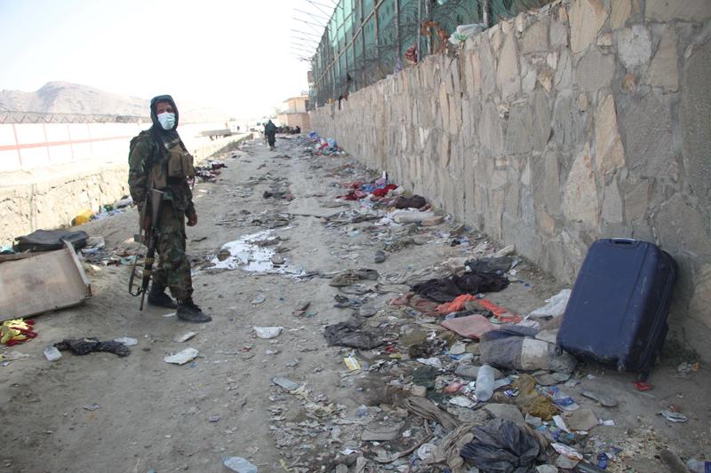 Kabul Airport blasts: Taliban member seen in explosion site