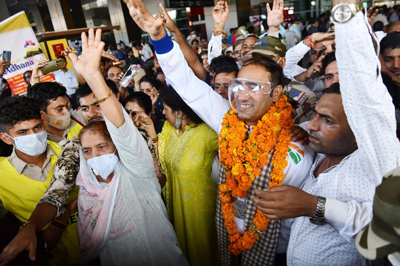 India welcomes Tokyo Paralympic 2020 winners
